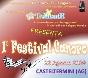 I° FESTIVAL CANORO