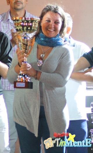 Simona Pino vince il III Festival Artinmente 2011