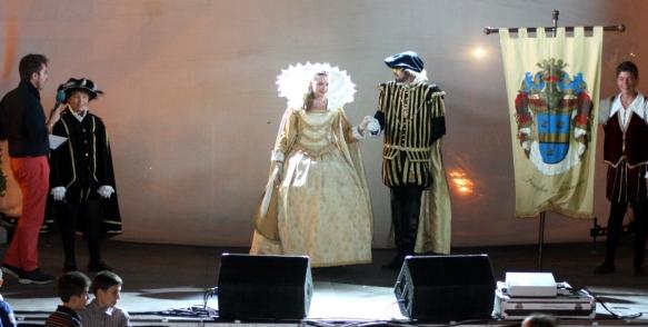 Il Corteo ospite al nostro festival ArtInMente del 2011